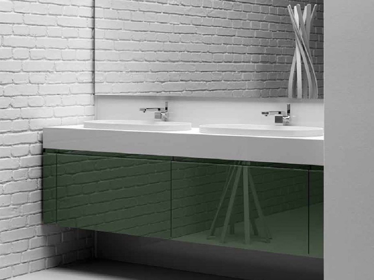 ארון אמבטיה מעוצב דגם בריסל