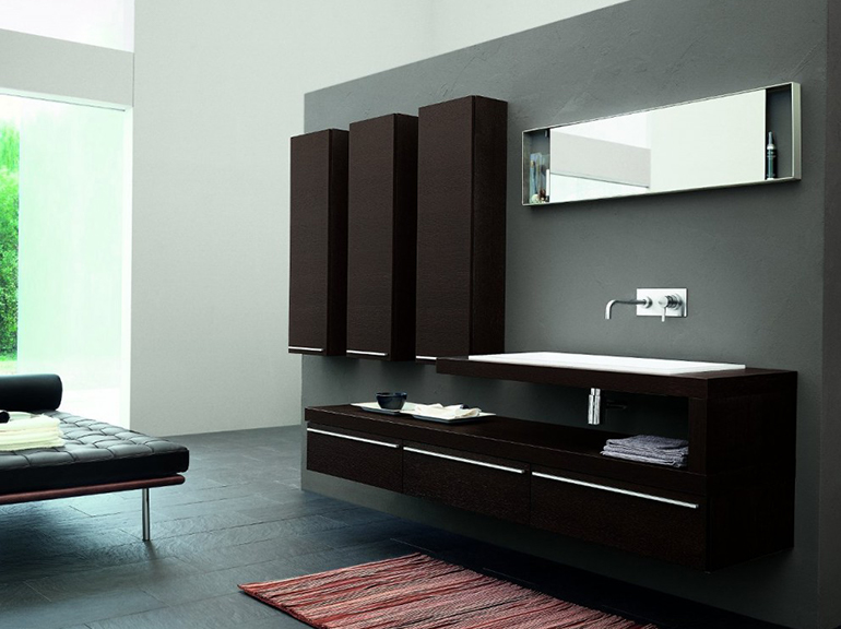 ארון אמבטיה מעוצב דגם וניטו