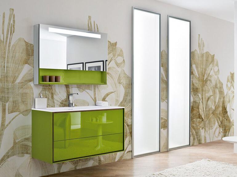 ארונות אמבטיה מעוצבים דגם גרין