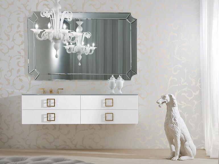 ארונות אמבטיה מעוצבים דגם מילאן