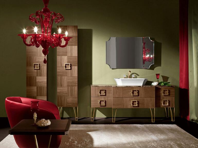 ארונות אמבטיה מעוצבים דגם מנדי