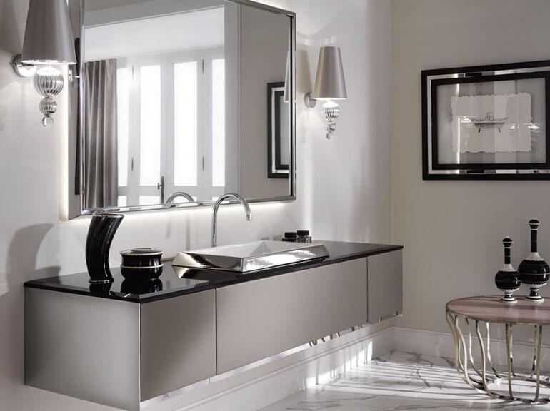 ארונות אמבטיה מעוצבים דגם סוהו