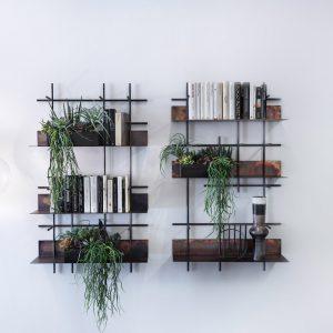 ספריית חלודה תלויה