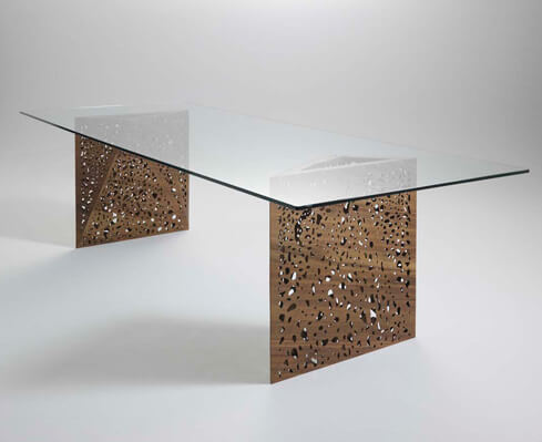 שולחן אוכל מעוצב דגם מארי